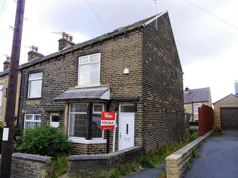 3 Bedrooms End Of Terrace House for sale in Poplar Avenue, Horton Bank Top, Bradford, BD7 4LQ