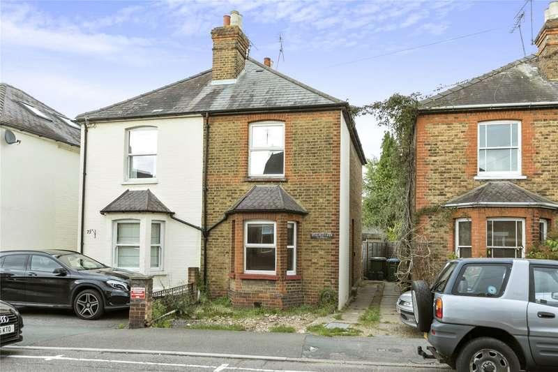 2 Bedrooms Semi Detached House for sale in Anyards Road, Cobham, Surrey, KT11