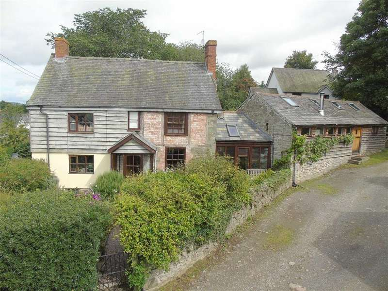 4 Bedrooms Detached House for sale in The Tin House, Priest Weston, Montgomery, Powys, SY15