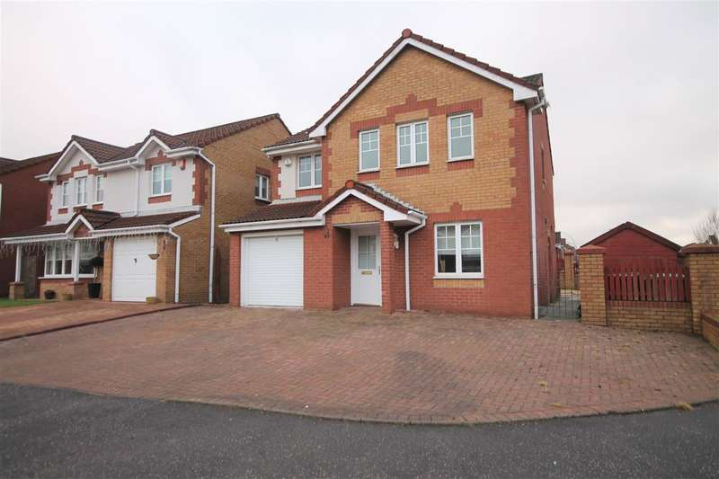 4 Bedrooms Detached House for sale in Balfron Drive, Coatbridge