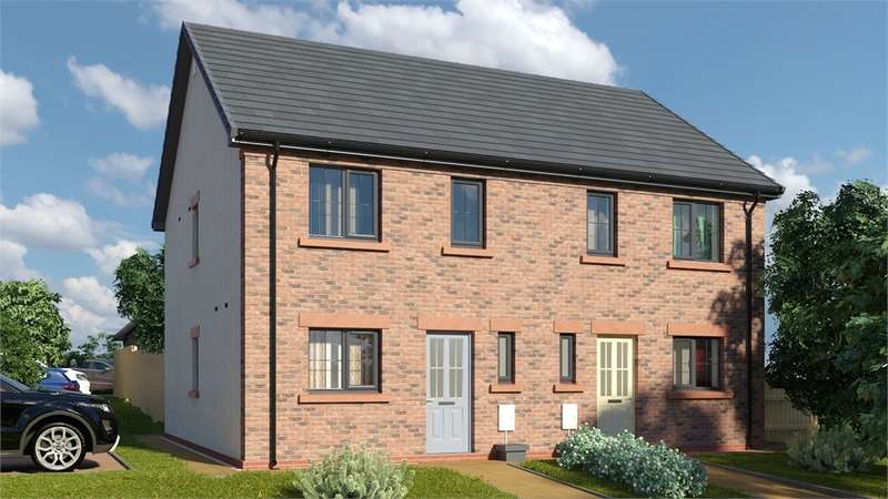 3 Bedrooms Semi Detached House for sale in CA7 9HQ The Petterill, St Cuthberts, WIGTON, Cumbria