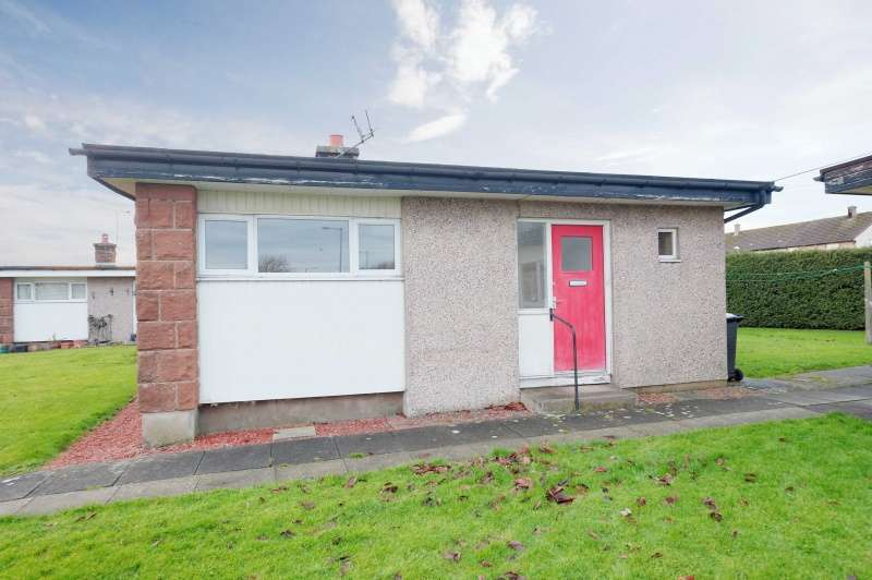 1 Bedroom Semi Detached Bungalow for sale in Lochside Road, Dumfries, Dumfries and Galloway, DG2 0EQ