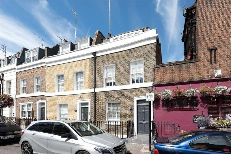 3 Bedrooms End Of Terrace House for sale in Longmoore Street, Pimlico, London