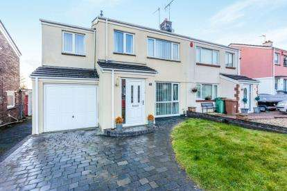 4 Bedrooms Semi Detached House for sale in Hartley Vale, Plymouth, Devon