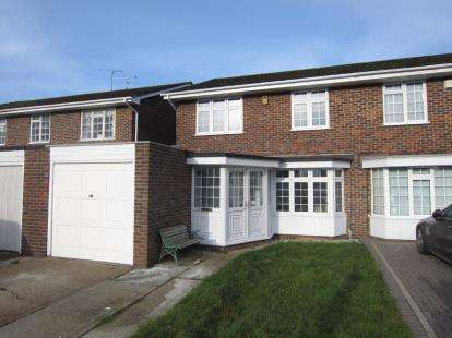 4 Bedrooms Semi Detached House for sale in Pilgrims Hatch, Brentwood, Essex