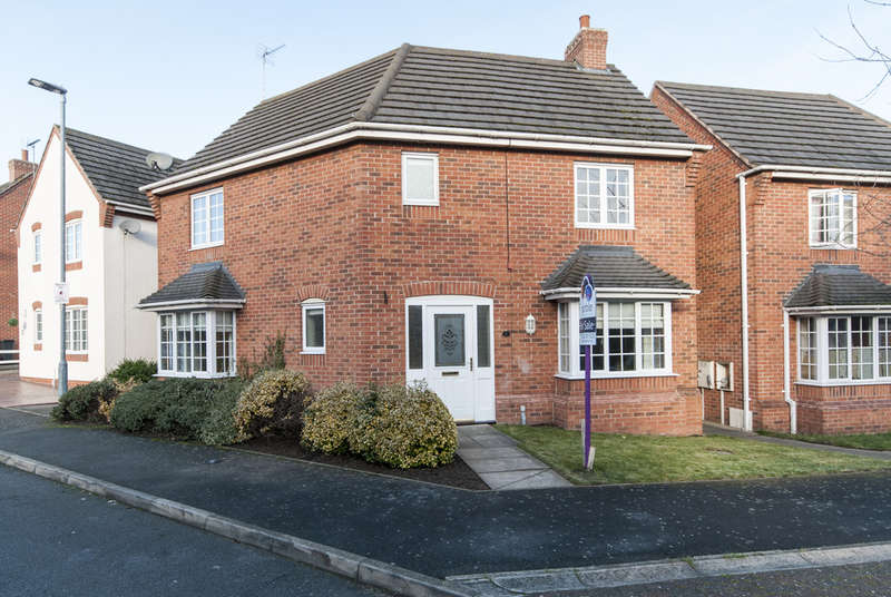 3 Bedrooms Detached House for sale in Glover Road, Castle Donington