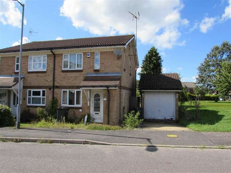 2 Bedrooms Semi Detached House for sale in Rushall Green, Luton