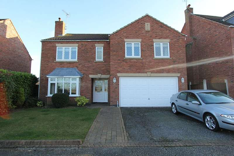 5 Bedrooms Detached House for sale in Eyres Close, Skegby, Sutton-in-Ashfield, Nottinghamshire, NG17 3EG