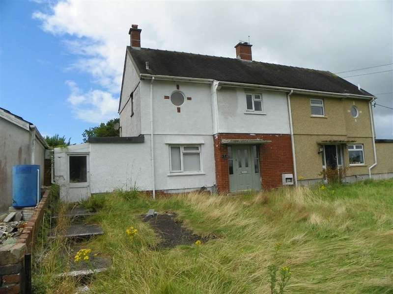 2 Bedrooms Semi Detached House for sale in Y Gaer, Llanelli