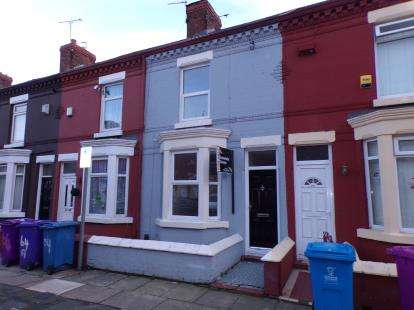 2 Bedrooms Terraced House for sale in August Road, Liverpool, Merseyside, England, L6