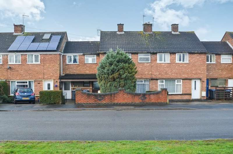 3 Bedrooms Terraced House for sale in Parkfield Road, Newbold, Rugby
