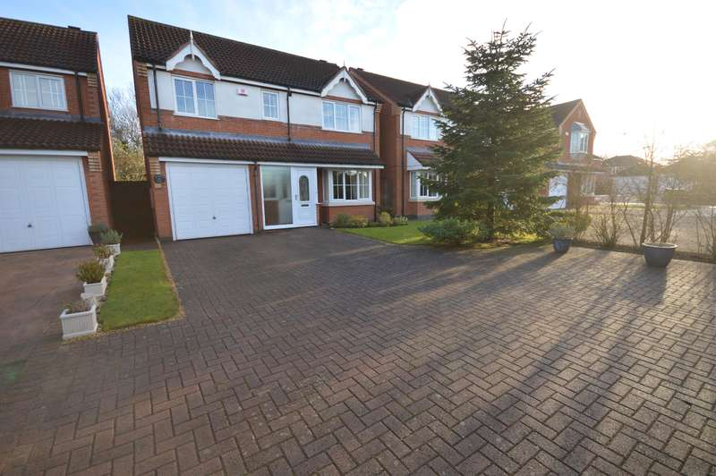 4 Bedrooms Detached House for sale in Netherfield Close, Broughton Astley, LE9 6XZ