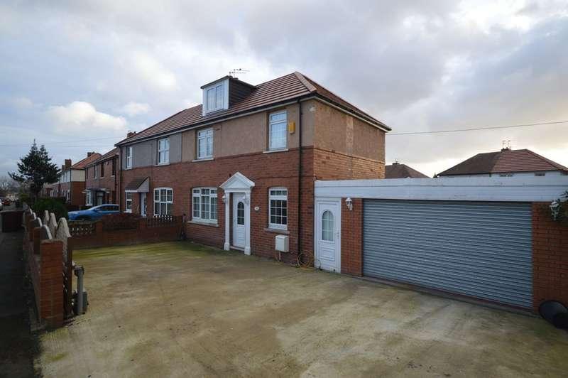 3 Bedrooms Semi Detached House for sale in Dewsbury Road, Wakefield