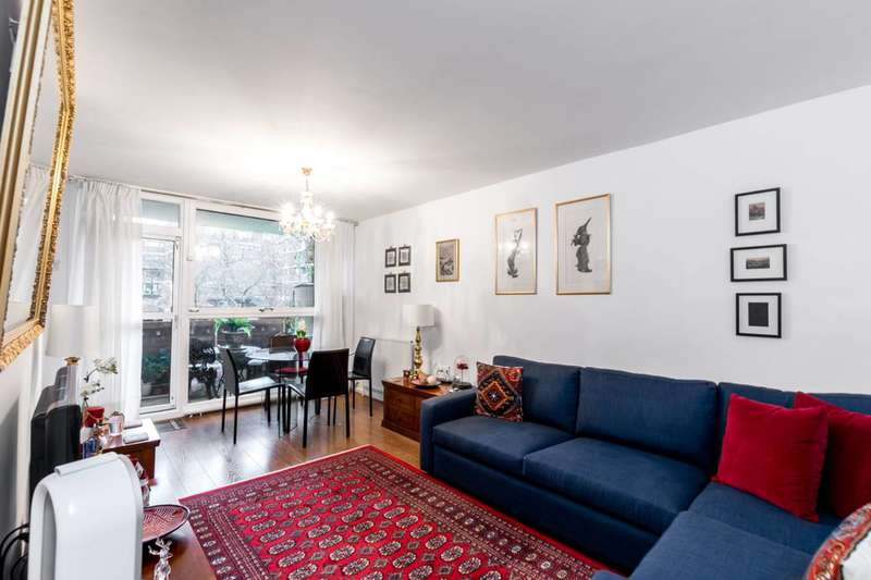 2 Bedrooms Flat for sale in Henry Wise House, Pimlico, SW1V