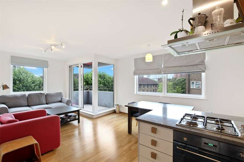 2 Bedrooms Flat for sale in The Graphite Apartments, 51 Provost Street, London, N1