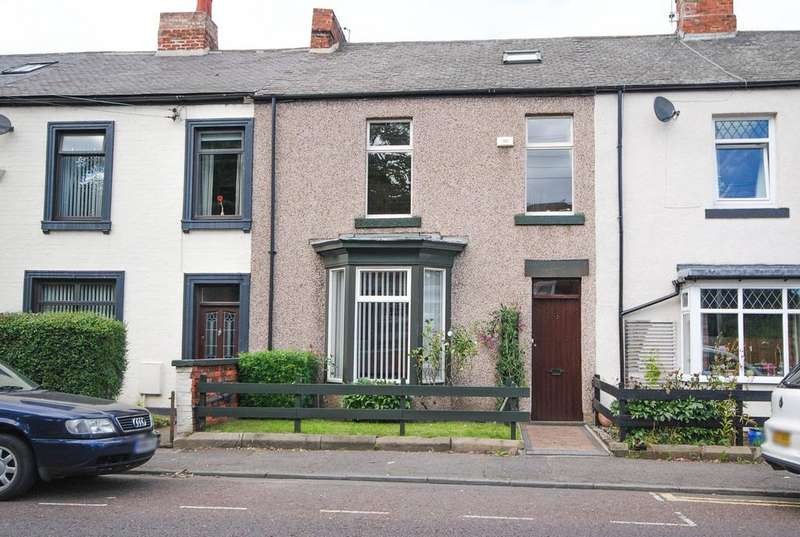 4 Bedrooms Terraced House for sale in Western Terrace, East Boldon