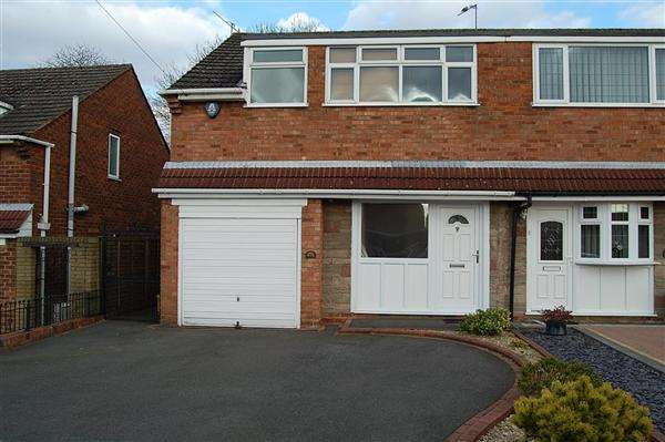 3 Bedrooms Semi Detached House for rent in Greenways, Halesowen, West Midlands