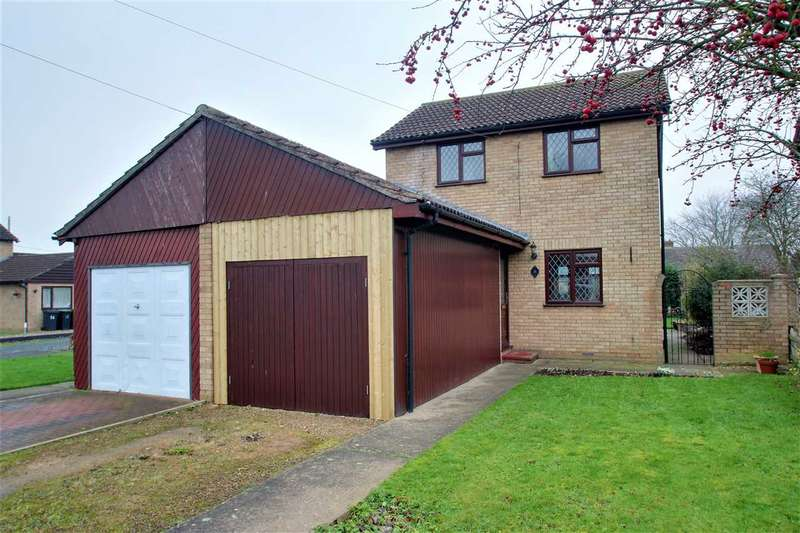 2 Bedrooms Semi Detached House for sale in Maple Close, Waddington, Lincoln