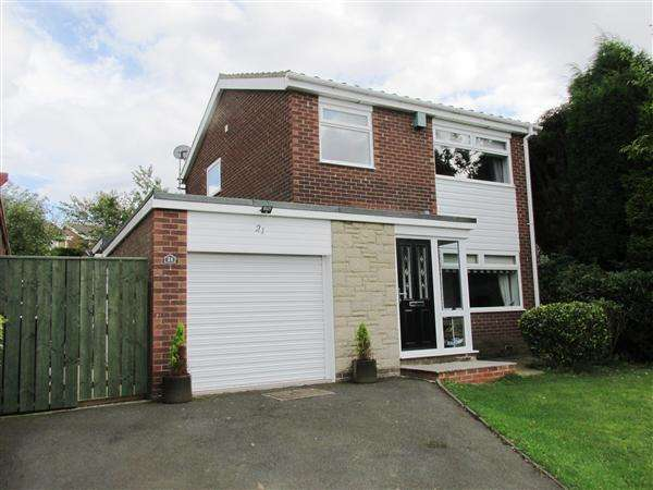 3 Bedrooms Detached House for sale in Ladybank, Newcastle upon Tyne