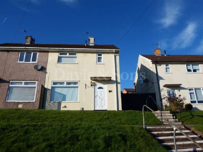 2 Bedrooms Semi Detached House for sale in Brynglas Drive, Newport, Newport. NP20 5QP