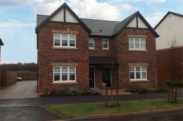 3 Bedrooms Semi Detached House for sale in Birchwood Way, Dumfries