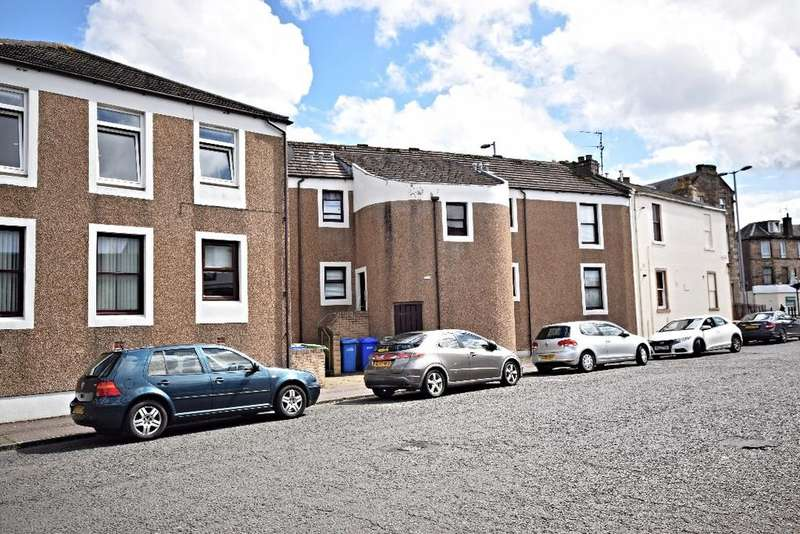 1 Bedroom Flat for sale in Peebles Street, Ayr, South Ayrshire, KA8 8DS