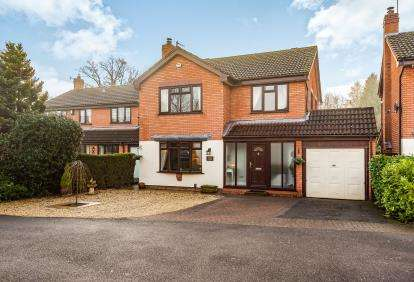 4 Bedrooms Detached House for sale in Barnetts Close, Kidderminster, N/A