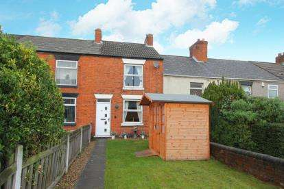 2 Bedrooms Terraced House for sale in Ringwood Road, Brimington, Chesterfield, Derbyshire