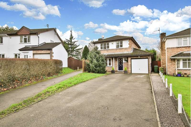 4 Bedrooms Detached House for sale in Silver Birch Close, Whitchurch, Cardiff