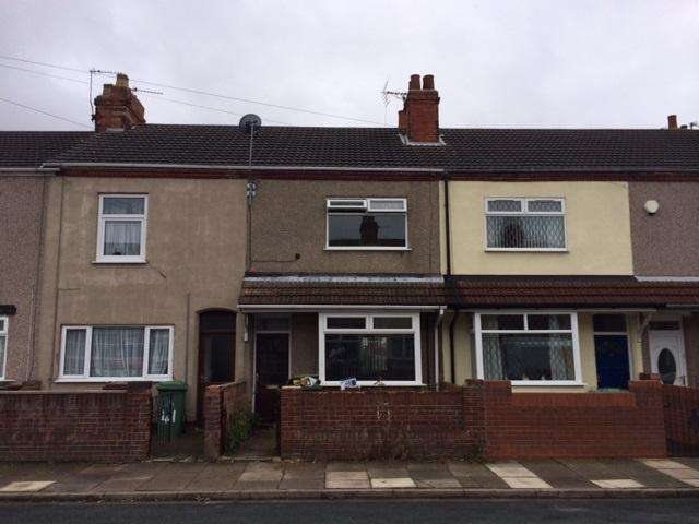 3 Bedrooms Terraced House for sale in Combe Street, Cleethorpes DN35