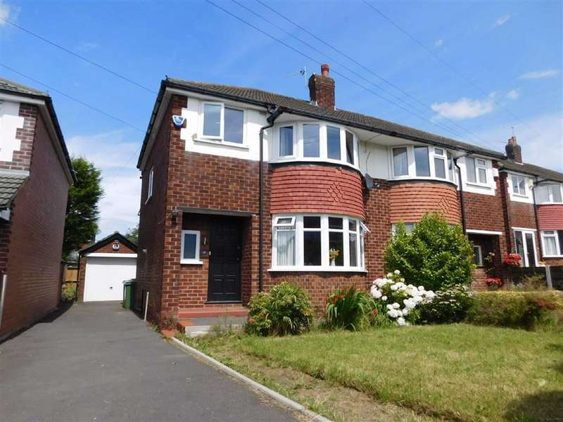 3 Bedrooms Semi Detached House for sale in Alan Drive, Marple, Stockport