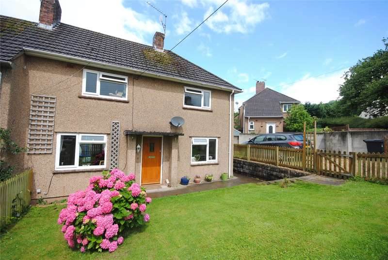 3 Bedrooms Semi Detached House for sale in Nye Close Cheddar Somerset BS27