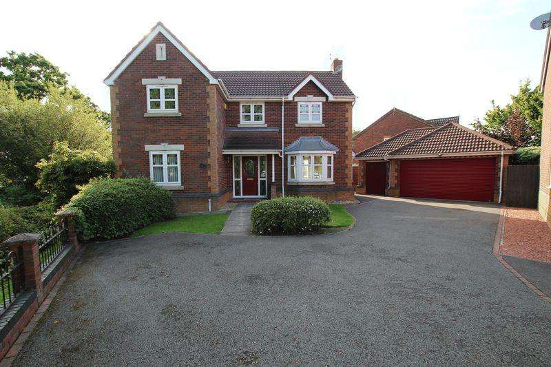4 Bedrooms Detached House for sale in Kinnington Way, Chester