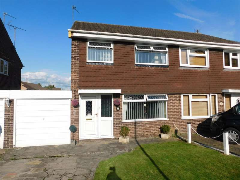 3 Bedrooms Semi Detached House for sale in Calderdale Drive, Long Eaton