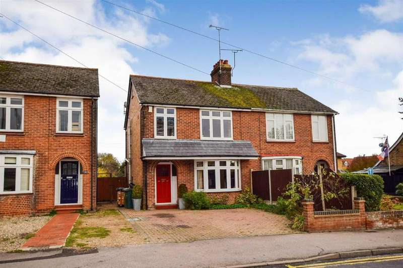 3 Bedrooms Semi Detached House for sale in Fambridge Road, Maldon