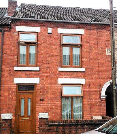 2 Bedrooms Terraced House for rent in Prospect Street, Alfreton
