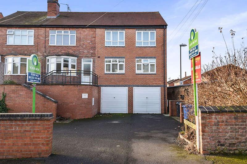 2 Bedrooms Flat for sale in South Street, Derby, DE1