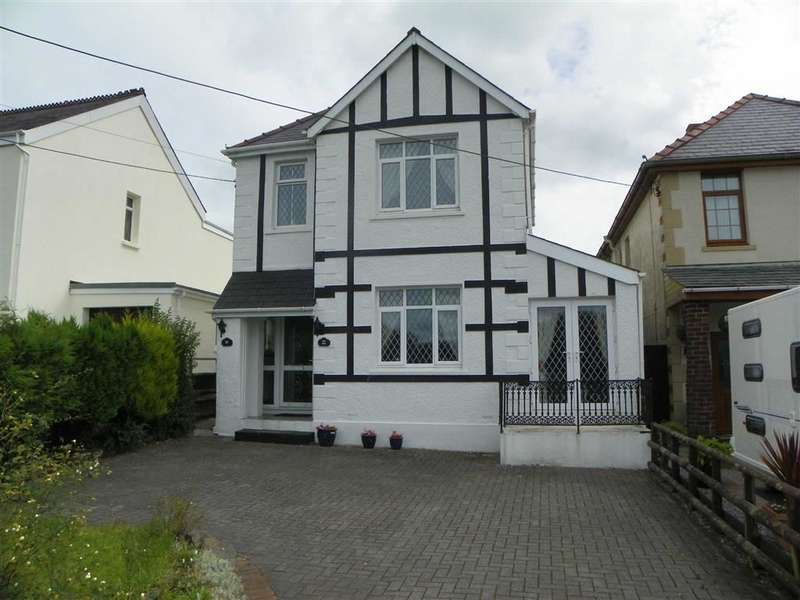 3 Bedrooms Detached House for sale in Llannon Road, Upper Tumble, Llanelli