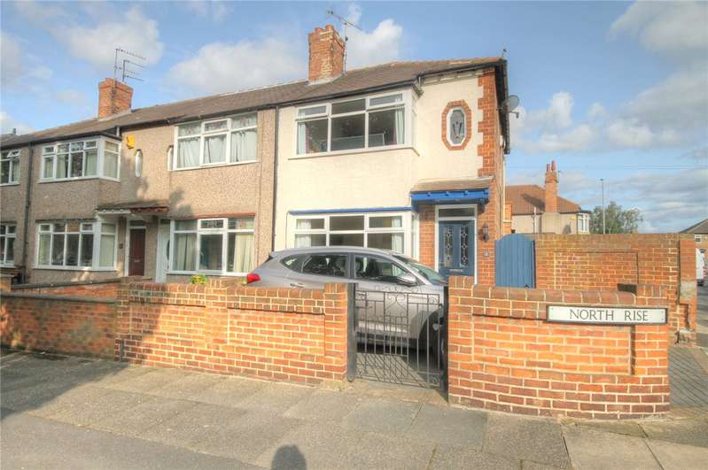 2 Bedrooms End Of Terrace House for sale in North Rise, Darlington, DL3