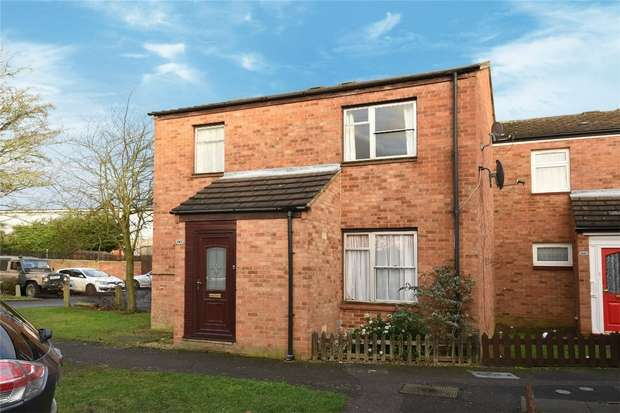 3 Bedrooms End Of Terrace House for sale in Leighfield Close, Bedford