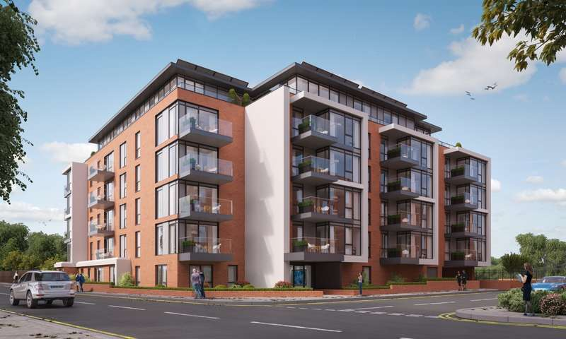 2 Bedrooms Flat for sale in Marsham House, Station Road, Gerrards Cross, SL9