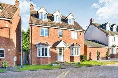 5 Bedrooms Detached House for sale in Foxholes Close, Deanshanger, Milton Keynes, Northamptonshire