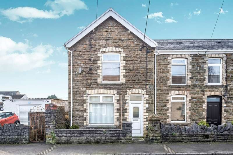 2 Bedrooms Semi Detached House for sale in Penywern Road, Clydach, SWANSEA