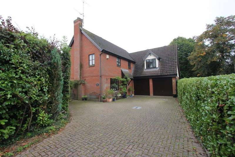 4 Bedrooms Detached House for sale in Horksley Gardens, Hutton, Brentwood