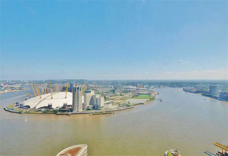 2 Bedrooms Apartment Flat for sale in Charrington Tower, Canary Wharf, London