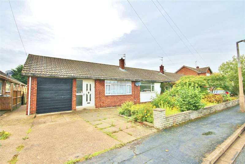 2 Bedrooms Semi Detached Bungalow for sale in Highcliffe Road, Grantham, NG31