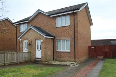 2 Bedrooms Semi Detached House for rent in Ferguson Way, Airdrie