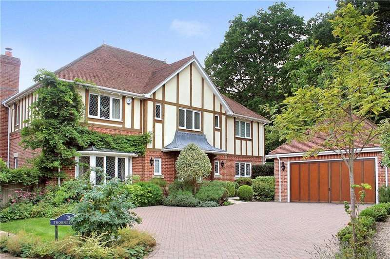 5 Bedrooms Detached House for sale in Long Heath Drive, Off Burnhams Road, Bookham, Surrey, KT23