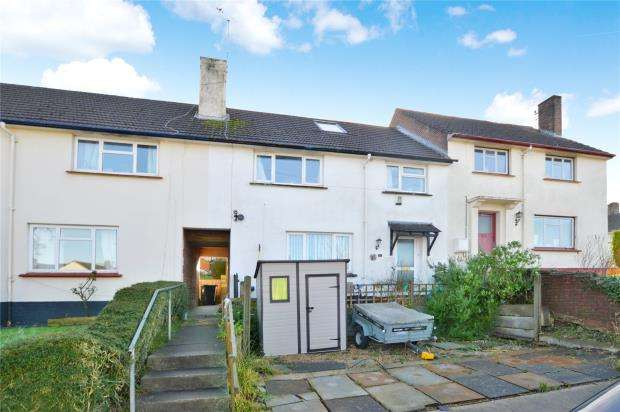 3 Bedrooms Terraced House for sale in Oakland Road, Newton Abbot, Devon