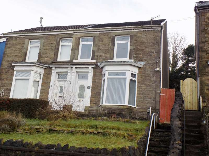 3 Bedrooms Semi Detached House for sale in Old Road, Briton Ferry, Neath, Neath Port Talbot. SA11 2BU